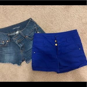 2 for 1 size 8 shorts